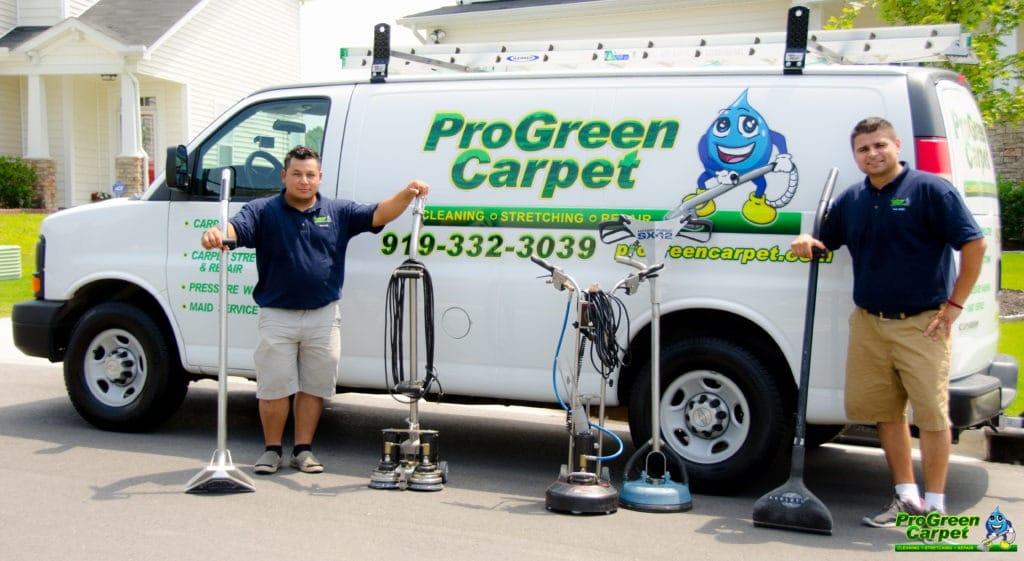 ProGreen Carpet Cleaning Raleigh Durham Van
